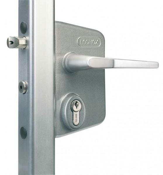 Slot voor buis D42.4mm met sleutel