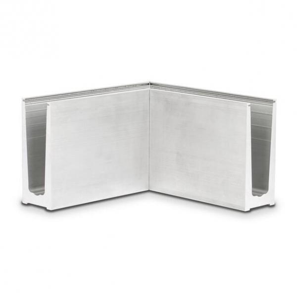 Binnenhoek/buitenhoek OnLevel 6010 voor topmontage