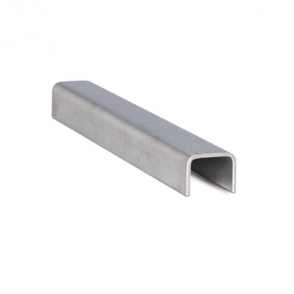 Inox U-profiel - AISI304/316