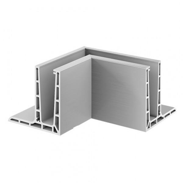 Binnen hoekprofiel Easy-Glass Pro F voor topmontage