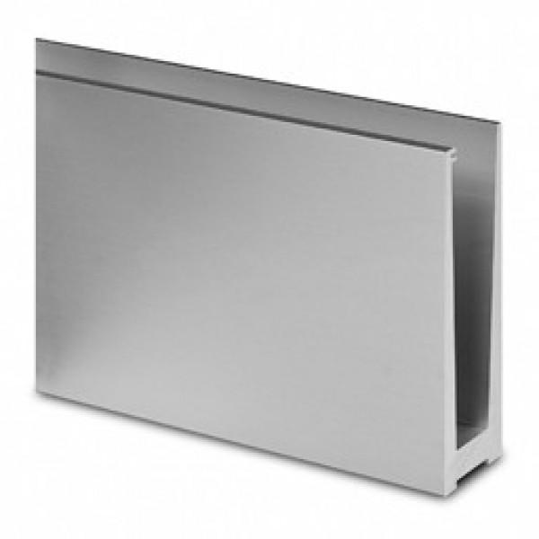 Basisprofiel Easy-Glass Slim voor montage in chape Lengte 5M