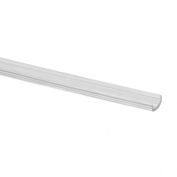 Led afdekprofiel voor led draagprofiel - lengte 2,5m