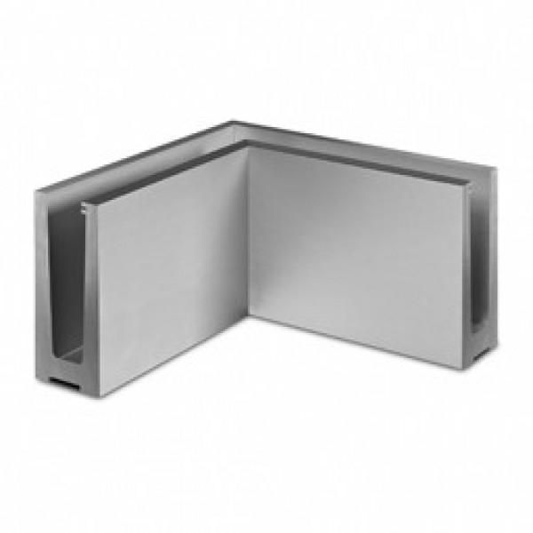 Binnen hoekprofiel Easy-Glass 3kN voor topmontage
