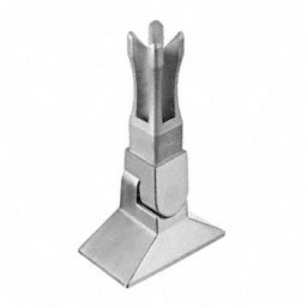 Variabele voet square line 40x40