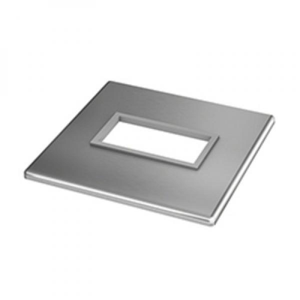 Afdekrozet square line 60x30 ingieten
