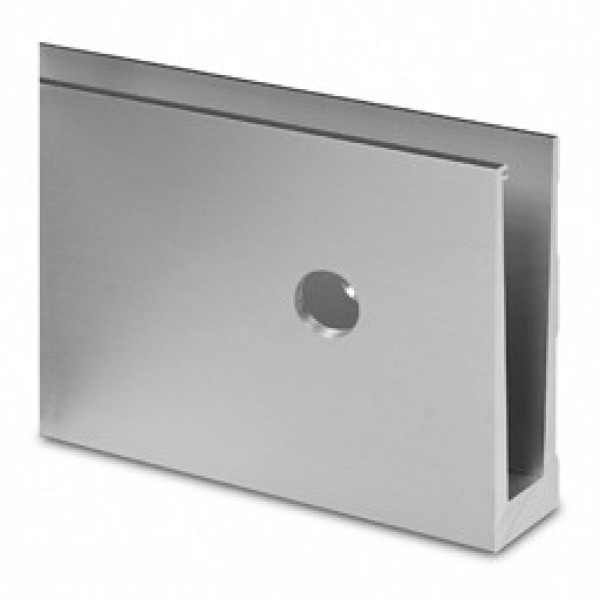 Basisprofiel Easy-Glass Slim voor zijmontage