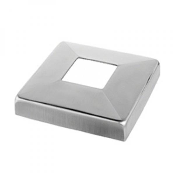 Afdekrozet square line 40x40 D93