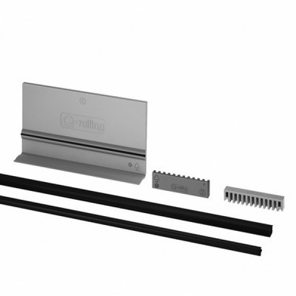 Rubber montage set voor Easy-Glass Pro F