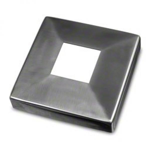 Afdekrozet square line 40x40 D108