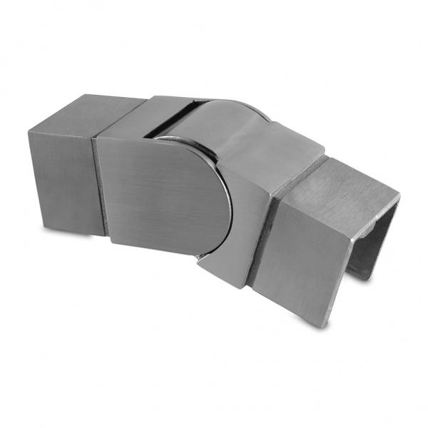 Variabele verbinder 25-55° voor vierkant U-profiel - neergaand