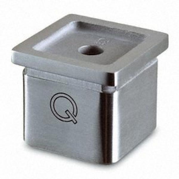 Buisverbinders squareline eindstuk/muurverbinder