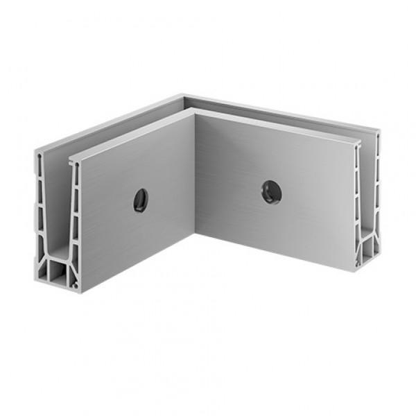 Binnen hoekprofiel Easy-Glass Pro voor zijmontage