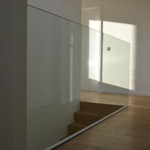 binnen balustrade glas zonder frame